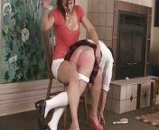 Audrey Knight OTK FF spanking daughter from nurse ff spanking