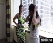 Big Tit Coed Cleo Hooks Up with XXX Legend Sara Jay! from xxx sex co