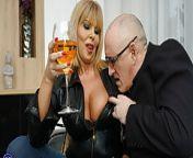 British MILF Miss Gabrielle Fox has sex with dirty old man from gabrielle sunhe