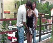 Young petite teen girl PUBLIC street gang bang sex on bridge from hijra gang bang sex video mba 18
