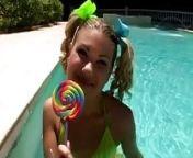 Swing Set Anal Cutie Aubrey Adams from azeri