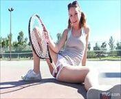 Aurora Fucks Her Tennis Racket On FTV Girls from shemales shows ftv