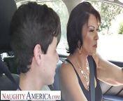 Naughty America - Mrs. Fuller (Vanessa Videl) teaches Juan how from nauthy america