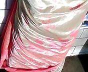Satin Saree Aunty Back from xossip real life aunty back hip i