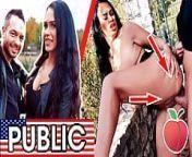 MILF Latina Zara Mendez FUCKED by rando at lake! Dates66.com from hfxxx com