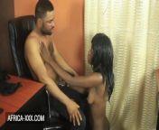 Hot Ebony girl has sex with the instructor from hot bhabhi boobs xxx